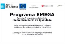 Programa EMEGA Fomento do emprendemento femenino